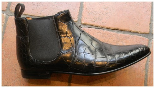 Bottines croco Gucci neuves
